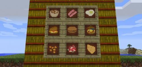 Bird's Foods для Minecraft 1.8