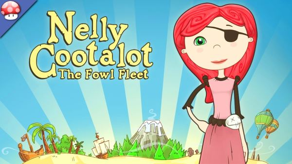 Патч для Nelly Cootalot: The Fowl Fleet v 1.0