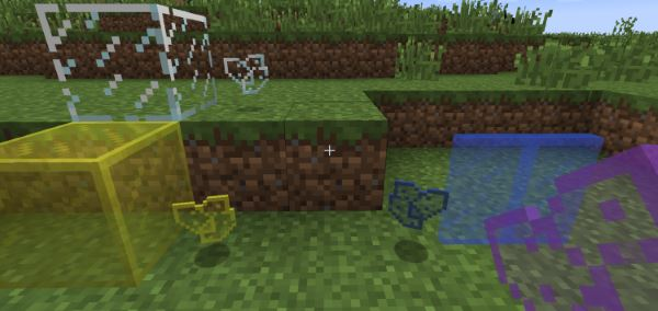 Glass Shards для Minecraft 1.9