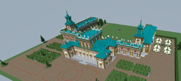 Wilanów Palace для Minecraft 1.9.2