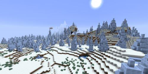 Зимний рай для Minecraft 1.9.2