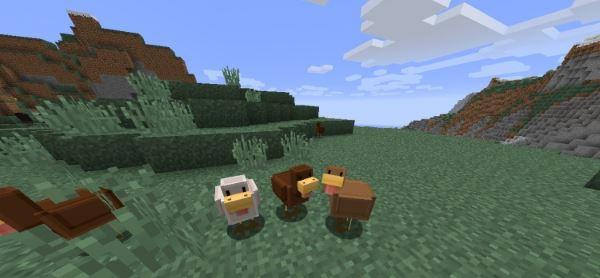 Blocky Mobs для Minecraft 1.8.9