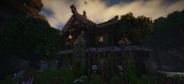 Old rustic house для Minecraft 1.7.10
