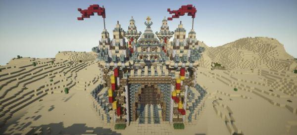 Templar Palace для Minecraft 1.8