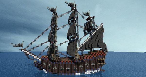 Pirate Ship: The Ocean Viper для Minecraft 1.8.9