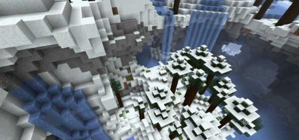 Floating Landscape для Minecraft 1.8