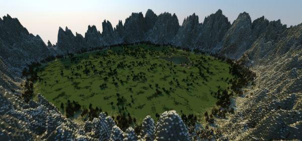 Terrain для Minecraft 1.8