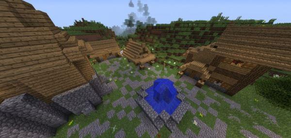Medieval Village для Minecraft 1.8