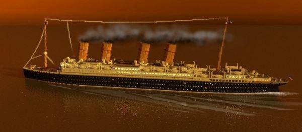 Liner SS Reichland для Minecraft 1.9.2