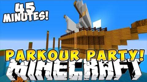 Parkour Party для Minecraft 1.9.2