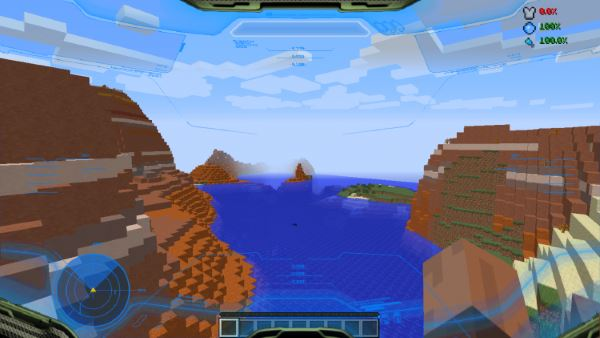 Halo HUD для Minecraft 1.7.2