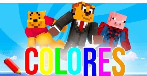 Parkour In Every Color для Minecraft 1.8.9