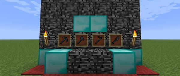Bedrock Tools для Minecraft 1.8