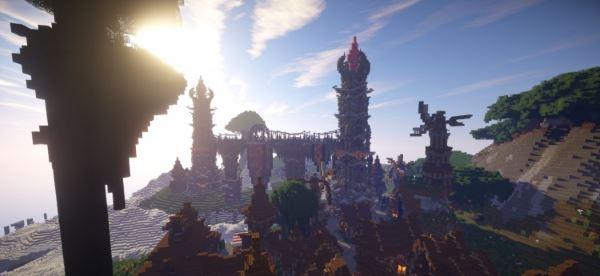 Althisar - Rustic Higlands для Minecraft 1.8