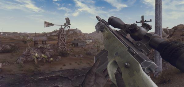 Снайперская Винтовка AWM-F для Fallout: New Vegas