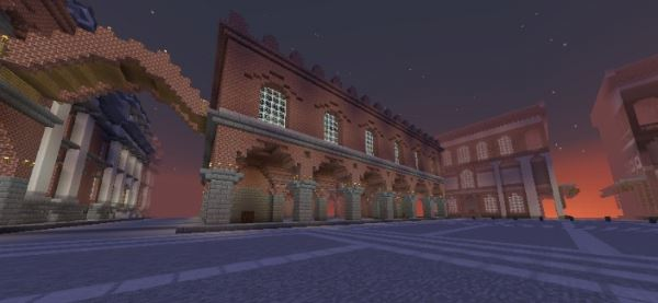 Medieval City of Cremona для Minecraft 1.8