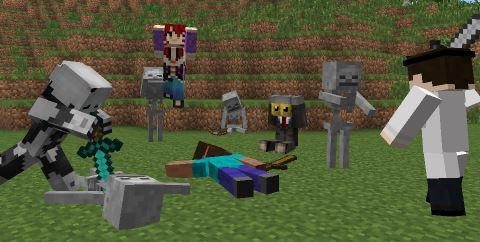 Model Citizens для Minecraft 1.7.10