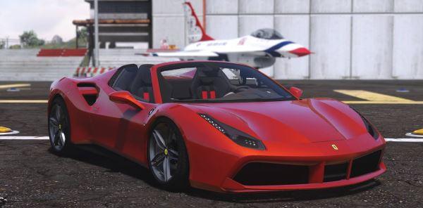 Ferrari 488 GTS для GTA 5