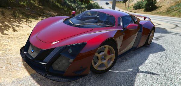 Marussia B2 для GTA 5