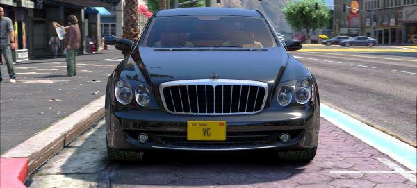 Maybach 62S для GTA 5