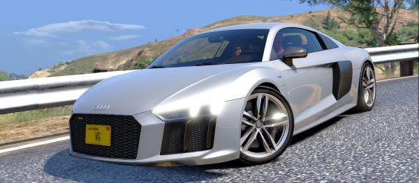 Audi R8 2016 для GTA 5