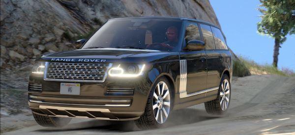 Range Rover Vogue 2015 для GTA 5