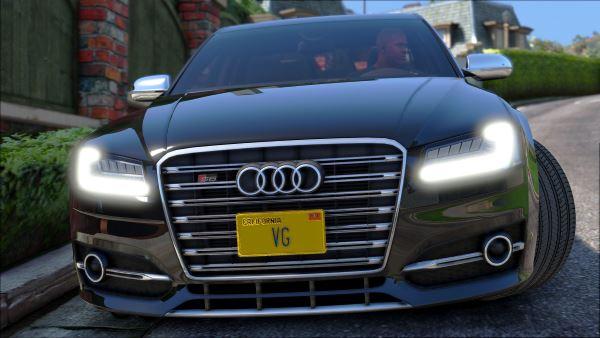 Audi S8 для GTA 5