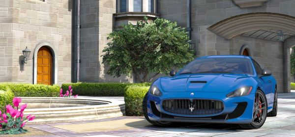 Maserati GT для GTA 5