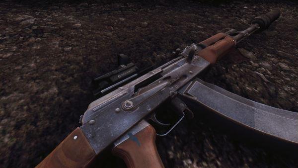 AKM&AKMS для Fallout: New Vegas