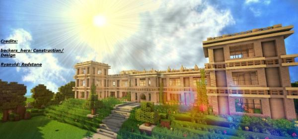 The Wayne Manor для Minecraft 1.8