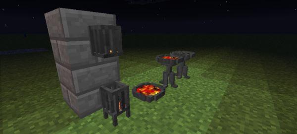 Brazier для Minecraft 1.8