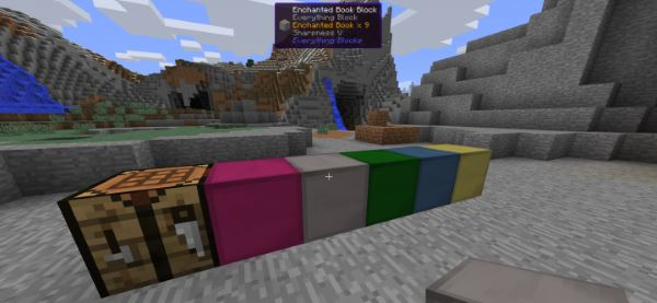 Everything Blocks для Minecraft 1.9