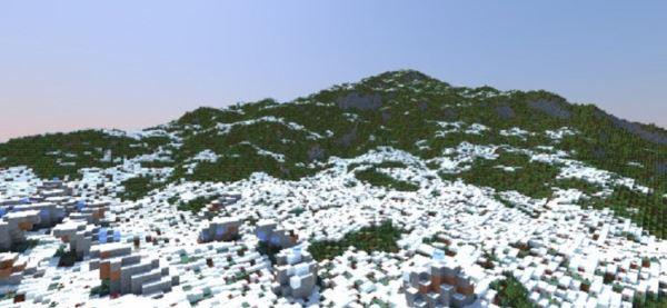 Frozen Tundra для Minecraft 1.8