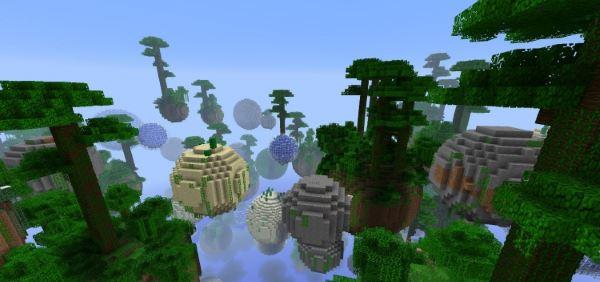 Planetoid для Minecraft 1.7.10