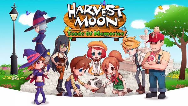 Русификатор для Harvest Moon: Seeds of Memories