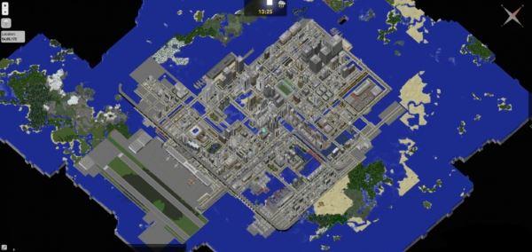 City of MAIKURA для Minecraft 1.8
