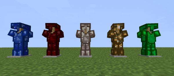 Armour Expansion для Minecraft 1.8
