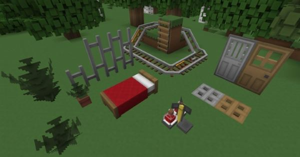 Paper Cut-Out 3D Models Add-on для Minecraft 1.9.4