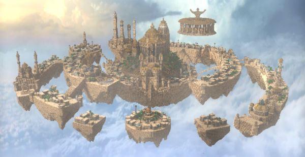 Al-Safir Academy's town для Minecraft 1.9.4