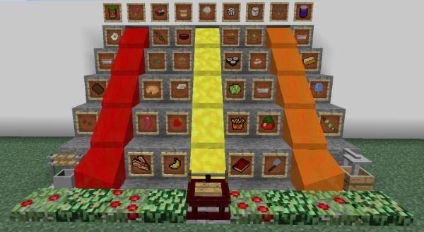 Extra Food для Minecraft 1.9