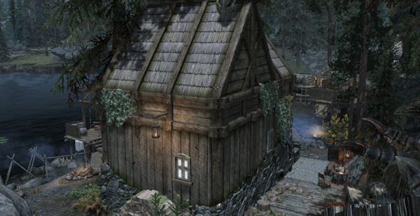 Коттедж у озера Илиналта v 2.0 для TES V: Skyrim