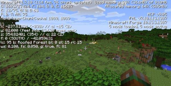 BetterFps для Minecraft 1.9