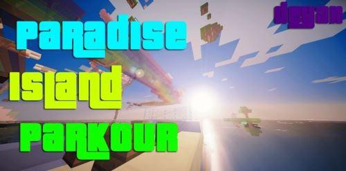 Paradise Island Parkour для Minecraft 1.8.9