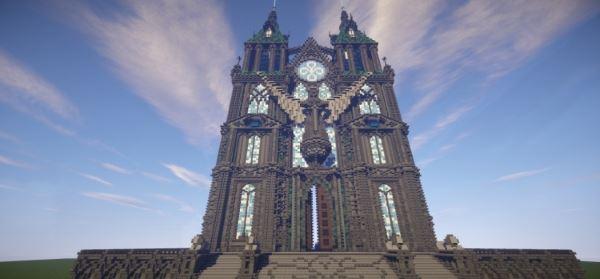 Prismarine Cathedral для Minecraft 1.8