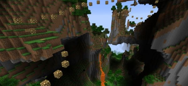 Jump across the Minecraft для Minecraft 1.8.9