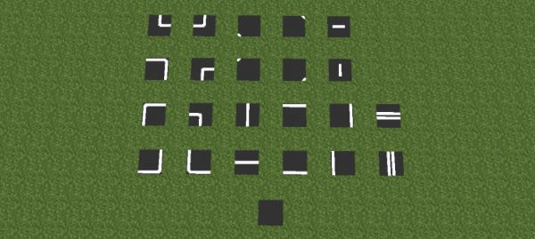 Asphalt Mod для Minecraft 1.7.10