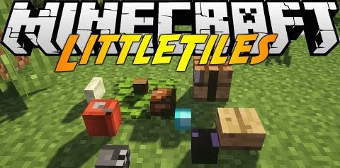 Little Tiles для Minecraft 1.7.10