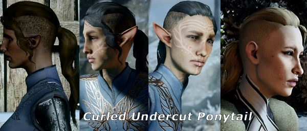 Koric's Small Hair Pack для Dragon Age: Inquisition