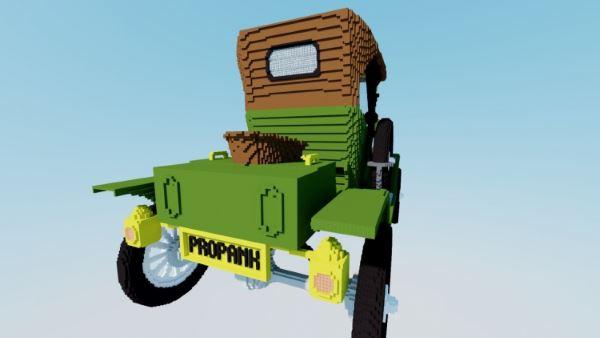 Ford T12 для Minecraft 1.8