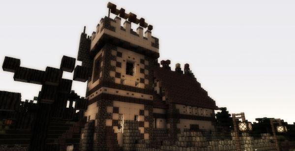 Warhammer Mansion для Minecraft 1.8